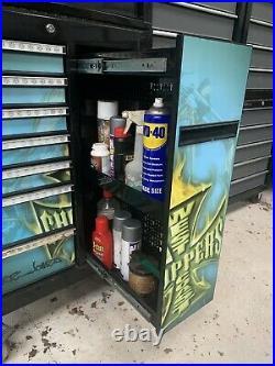 Mac Tools Box Jesse James Roll Cab Bottom Cabinet West Coast Choppers Rare