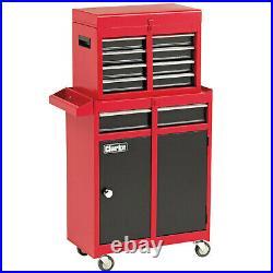 Mechanics Tool Chest Wheeled Tool Box Lockable Heavy Duty Roller Cabinet