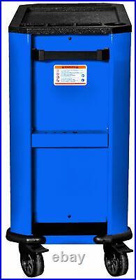 Motamec Motorsport M90 Roller Cabinet Tool Chest RollCab Box Blue / Black