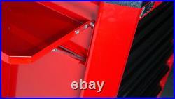 Motamec Motorsport M90 Roller Cabinet Tool Chest RollCab Box Red / Black