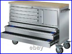 New 48 Stainless Steel Rolling Workbench Tool Cabinet Roller cabinet CT1996