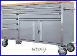 New 60 Stainless Steel Rolling Workbench Tool Cabinet Roller cabinet CT1973