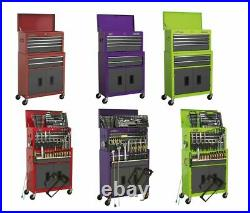 New Sealey AP2200BB Metal Combination Tool Top Box Roll Cabinet and Tools option