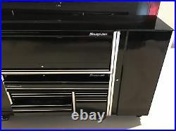 New! Snap-on Tools Mini Roll Tool Box Roll Cab Storage Chest Cabinet Black
