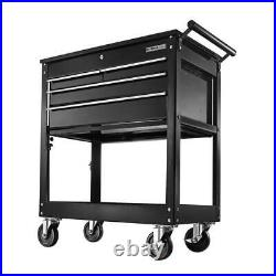 OLYMPIA 4-Drawer Roller Cabinet Tool Chest Storage Cart Lockable Casters Wheels