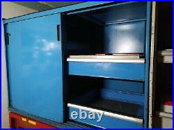Polstore Like Lista Vidmar Bott Double Roller Tool Cabinet