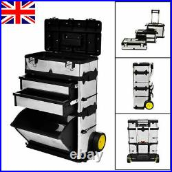 Portable Tool Roller Mobile Rolling Wheels Trolley Cart Storage cabinet Tool Box