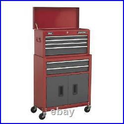 Portable Toolbox Tool Storage Chest Box Rollcab Roll Cab Wheels Cabinet Garage