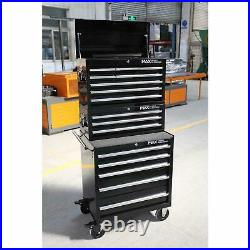 Professional 17 Drawer Combination Tool Chest Roller Cabinet