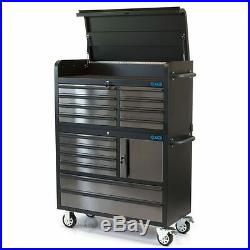 SGS 41 Professional 14 Drawer Stainless Steel Tool Chest & Roller Cabinet
