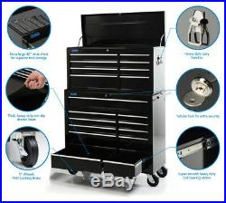 SGS 42 Professional 19 Drawer Tool Chest & Roller Cabinet