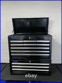 SGS 42 Professional Roller Tool Cabinet, Top Box, Tool Chest, 2 side lockers