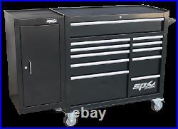 SP Tools Roller Cab Black Custom 11 Drawer + Side Cabinet SP40160