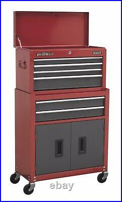 Sealey AP2200BB Tool Storage Top Box Chest & Roller Cabinet Toolbox Ball Bearing