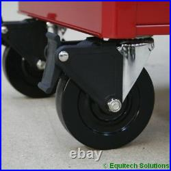 Sealey AP33439 Rollcab Roll Cab Tool Box Chest Cabinet Ball Bearing Runners Red