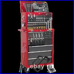 Sealey American Pro 14 Drawer Roller Cabinet and Tool Chest + 239 Piece Tool Kit