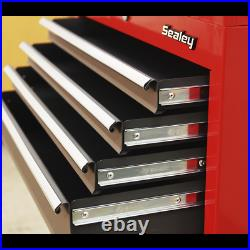 Sealey American Pro 6 Drawer Roller Cabinet and Tool Chest Red / Grey
