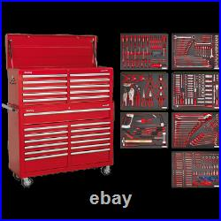 Sealey Superline Pro 23 Drawer Roller Cabinet and Tool Chest + 446 Piece Tool Ki