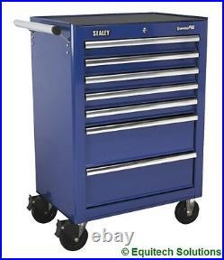 Sealey Tools AP26479TC Blue Rollcab Roll Cabinet Toolbox Ball Bearing Runners