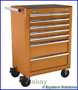 Sealey Tools AP26479TO Orange Rollcab Roll Cabinet Toolbox Ball Bearing Runners