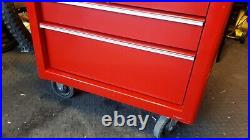 Snap On 26 roll cab tool cabinet tool box with keys
