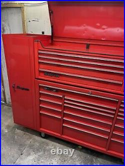 Snap On 53 Stack With Side Locker, Roll Cab, Top Box, Tool Box