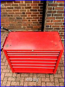 Snap On Roll Cab Cabinet, 7 Drawer, Good Renown Quality Tool Chest With Key