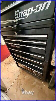 Snap On Tool Cabinet Roller Cab and Top Box Limited Edition Liquid Metal