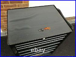 Snap On Tools 7 Drawer Roll Cab Tool Box Cabinet KRA2007UPC & Key HM PLANT Black