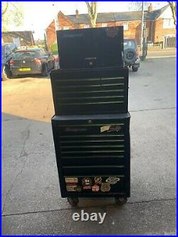 Snap On Tools 7 Roll Cab Tool Box Cabinet KRA2007U Good Cond with Key