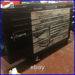 Snap on 54 Black ltd Edition Roll cab with side locker and drawers snap on tool