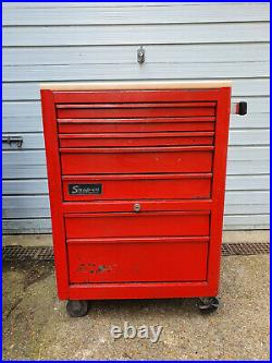 Snap-on KRA380 26 7 Drawer Roll Cab Tool Cabinet Chest Box