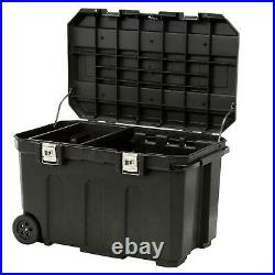 Stanley Lockable Roller Tool Chest Mobile Tool Box Storage Cabinet 50 Gallon