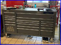 TECH SERIES Mac Tool Box Triple bank roller Cabinet