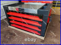 TOOL BOX ROLLER CABINET STEEL Red Deluxe CHEST 4 DRAWERS FULL OF TOOLS NEW