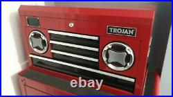 TROJAN tool cabinet chest roller drawers, Bluetooth