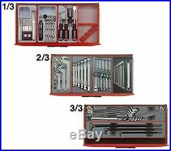 Teng 1001 Mega Master Mechanics Hand Tool Kit & 3 Roller Cab Cabinets, TCMM1001N