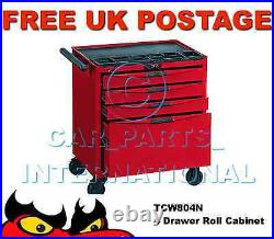Teng Tools TCW804N 4 Drawers Roller Cabinet Tool Storage Box