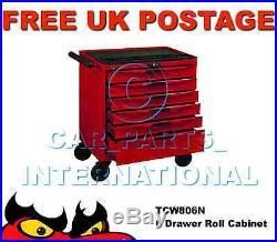 Teng Tools TCW806N 6 Drawers Roller Cabinet Tool Storage Box