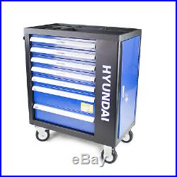 Tool Chest & 298 Tools set PRO 7 Drawer Castor Mounted Roller Cabinet HYUNDAI