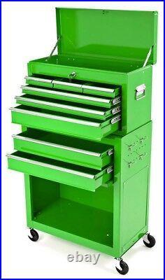 Tool Chest Tool Cabinet Roller Chest Garage Workshop Mechanics Workshop Green