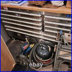 Tool chest roller cabinet SGS 55 stainless steel hard wood top