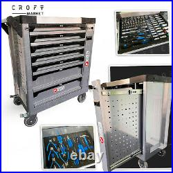 Toolbox 8-6 Draws Tool Chest Storage Cabinet Roller Cab Complete With Tools