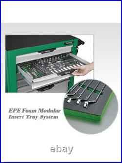 Toptul 322pcs Mechanical Tool Set & 8 Drawer Roller Cabinet (GE-32203)