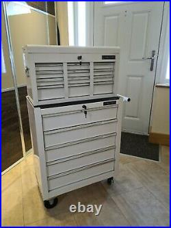 US PRO TOOLS TOOL CHEST AND ROLLER CABINET, ball bearing draws