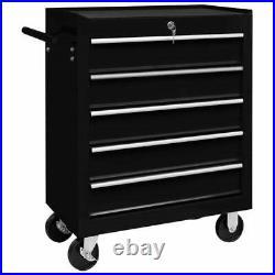 VidaXL Workshop Tool Trolley with 5/7/10/14 Drawers Storage Cabinet Roller Cart