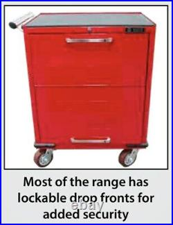 White International Toolbox 7 Draw Roller Cabinet Lockable Tool Box Trolley Cart